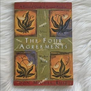 """""""The Four Agreements"""" Paperback Book"""